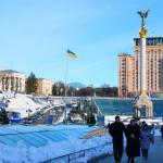 Kiew – friedlicher Majdan im Winter