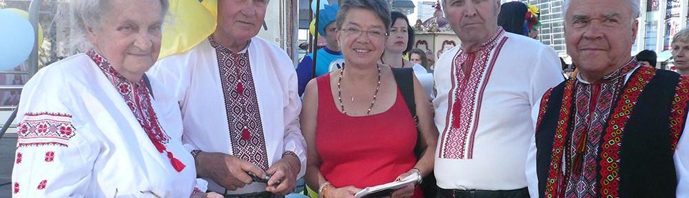 Wyschywanka – Feiertag der Trachten in Dnipropetrowsk